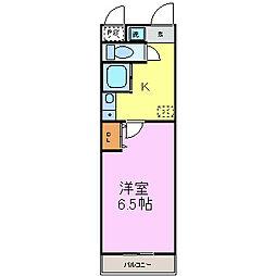My Room旭[1階]の間取り