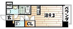 福岡県北九州市小倉北区下到津2の賃貸マンションの間取り