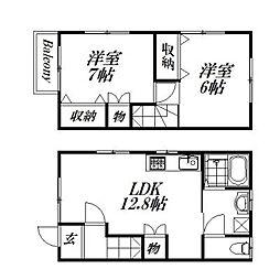 [一戸建] 静岡県浜松市西区大平台1丁目 の賃貸【/】の間取り