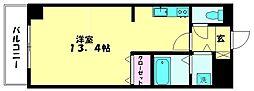 アザレアハイツ葉山[307号室]の間取り