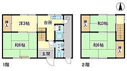 [一戸建] 兵庫県姫路市東今宿6 の賃貸【/】の間取り