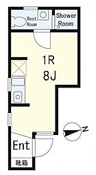 (仮称)新宿区南榎町アパート[106号室]の間取り
