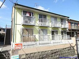 福岡県北九州市八幡西区折尾4の賃貸アパートの外観