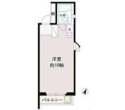 パーク・ノヴァ渋谷[5階]の間取り