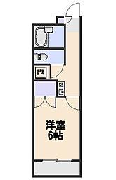 煉瓦館ボワ・リジェール[3階]の間取り