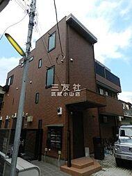 東京都品川区小山2丁目の賃貸アパートの外観