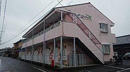 愛知県安城市高棚町井荒井の賃貸アパートの外観