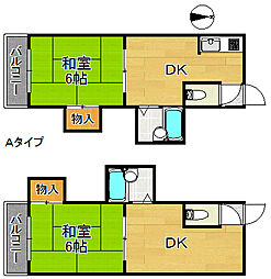 BS11アネックス[3階]の間取り