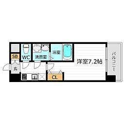 エスレジデンス新大阪WEST[11階]の間取り