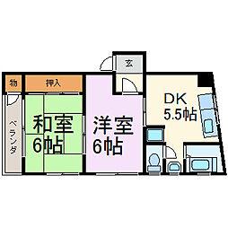 伊藤ビル(千代田)[3階]の間取り