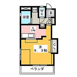 CASA板屋[1階]の間取り