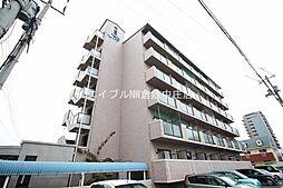 岡山県倉敷市昭和1丁目の賃貸マンションの外観