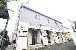 東京都町田市忠生1丁目の賃貸アパートの外観