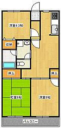 プラザMM[5階]の間取り