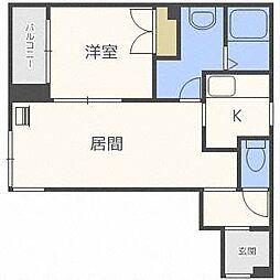 CUBE4・3[1階]の間取り