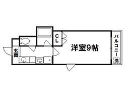 ツボウチロイヤルハウス[2階]の間取り