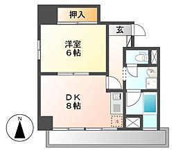 ケイポイントビル[3階]の間取り