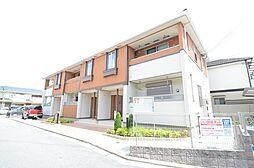 兵庫県西宮市広田町の賃貸アパートの外観