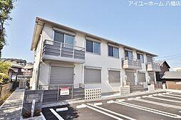 福岡県北九州市若松区西園町の賃貸アパートの外観
