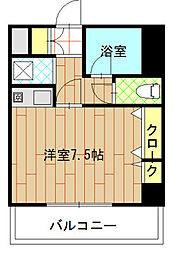 エステート博多駅南ハウス[9階]の間取り