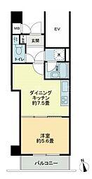 クリオ磯子1番館[4階]の間取り