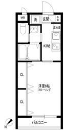 CELSION SUGAMO[3階]の間取り