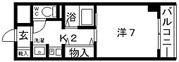 アヴァンセ21[206号室号室]の間取り