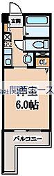 ジュネス高井田[2階]の間取り