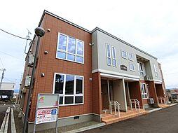 北海道岩見沢市五条東17丁目の賃貸アパートの外観
