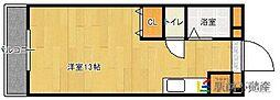 ジュネス麦野[3階]の間取り