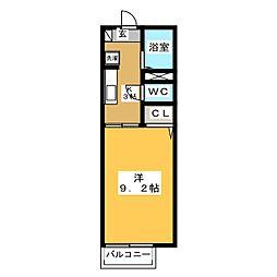 プロシード[1階]の間取り