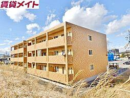 三重県四日市市ときわ5の賃貸マンションの外観