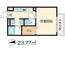 QBT[2階]の間取り