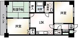 メゾン・ド・千里[203号室]の間取り