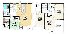 勢野北口駅 2,530万円