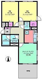 成城ハウス[1階]の間取り