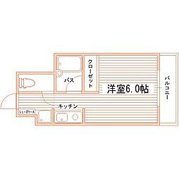アルテハイム折尾[3階]の間取り