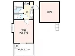 メイプルハウス[1階]の間取り