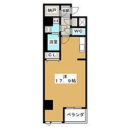 グランシャリオ(大矢)[8階]の間取り