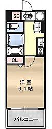 ラナップスクエア京都西陣[404号室号室]の間取り
