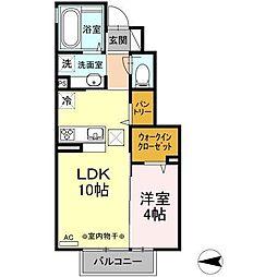 仮)D-room諏訪三丁目[1階]の間取り