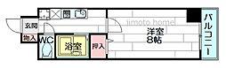 江坂ニュー白百合[5階]の間取り