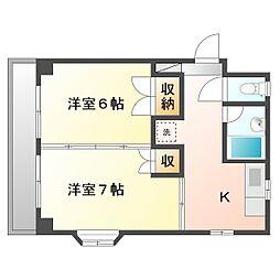幸南マンション2[2階]の外観