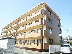 静岡県磐田市森岡の賃貸マンションの外観