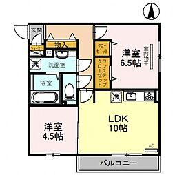 チアフル[2階]の間取り
