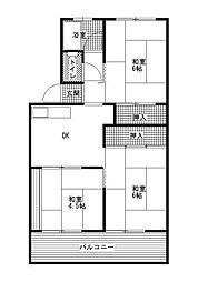 マンション110[1階]の間取り