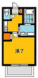 AハイムA[205号室]の間取り