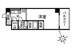 メゾンド・ピア 7[301号室]の間取り