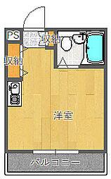 プレアール吹田泉町II[203号室]の間取り