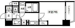 ララプレイス大阪城WESTEN[2階]の間取り